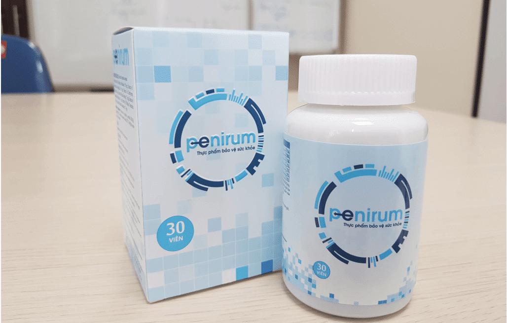 Penirum - thuốc trị xuất tinh sớm hiệu quả