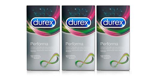 Bao cao su Durex Performa giúp bạn kéo dài thời gian xuất tinh
