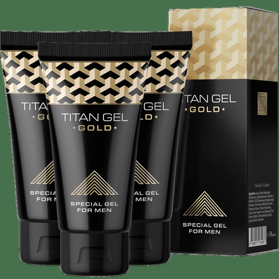 Gel bôi kéo dài thời gian quan hệ Titan Gel Gold