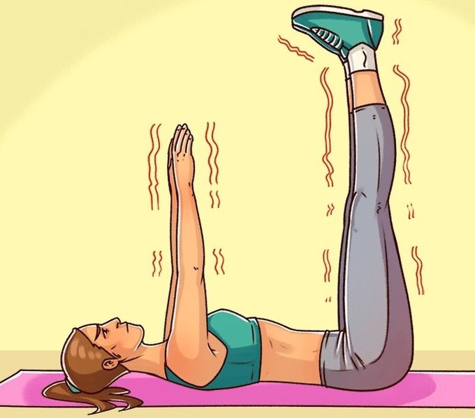 Tập dơ chân cũng giúp kéo dài thời gian quan hệ rất tốt