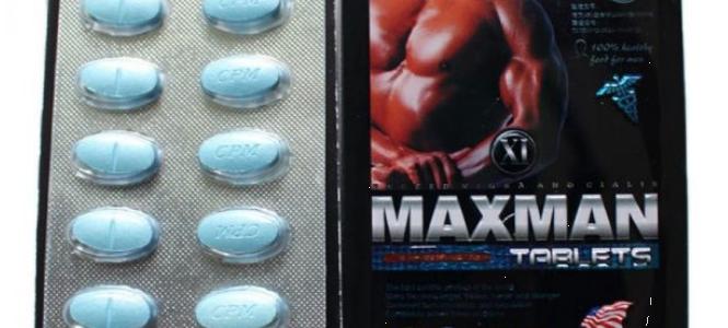 Thuốc kéo dài thời gian quan hệ Maxman