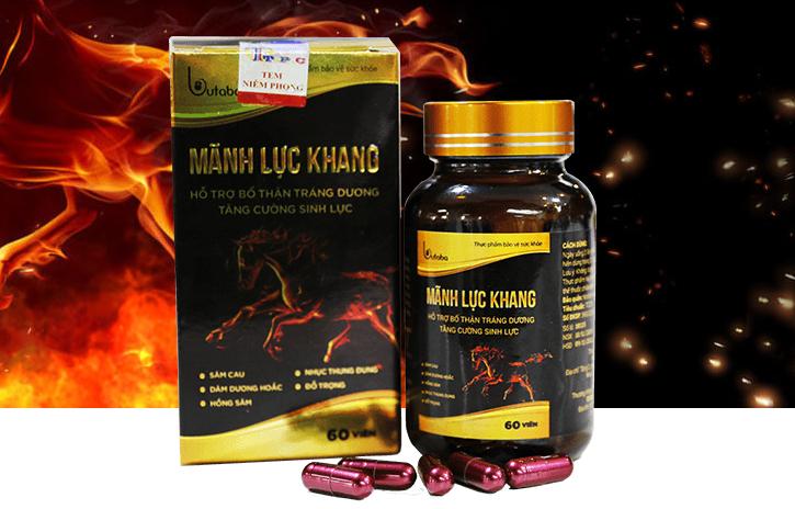 Thuốc tăng cường sinh lý nam Mãnh Lực Khang