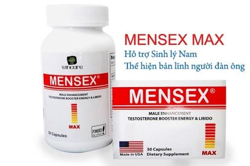 Viên uống hỗ trợ kéo dài thời gian quan hệ Mensex